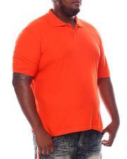 Big & Tall - Basic Polo Pique Shirt (B&T)-2534797
