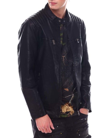 Buyers Picks - Moto Jacket with Chest Zipper Detail