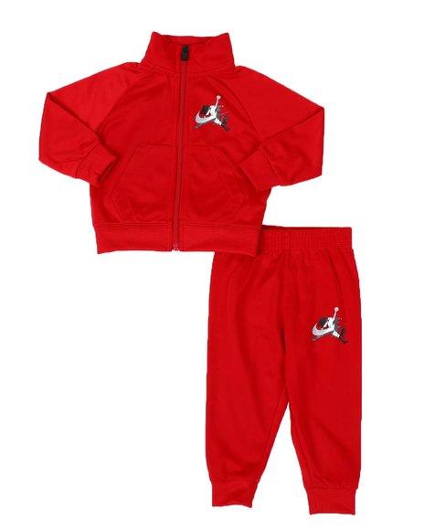 Air Jordan - 2 Pc JDB Jumpman Classic Tricot Jacket & Track Pants Set (Infant)