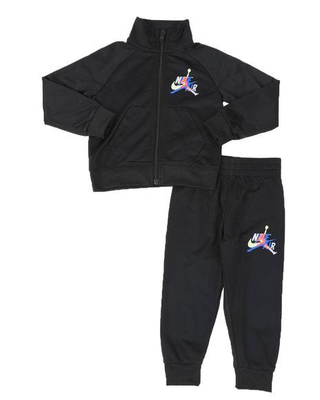 Air Jordan - 2 Pc JDB Jumpman Classic Tricot Jacket & Track Pants Set (2T-4T)