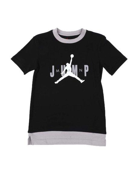 Air Jordan - JDB Jumpman Triple Threat Ringer Tee (8-20)