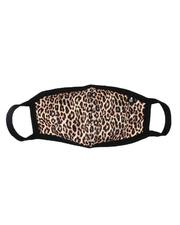 Rebel Minds - Leopard Neoprene Face Mask (Unisex)-2536032
