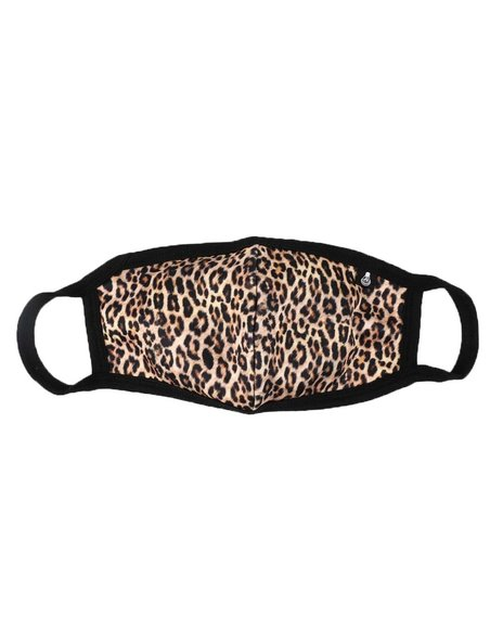 Rebel Minds - Leopard Neoprene Face Mask (Unisex)