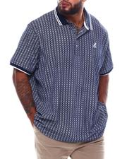 Kangol - All Over Pattern Short Sleeve Polo (B&T)-2536143