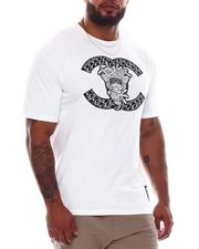 Crooks & Castles - Lux CC Applique S/S Tee-2537388