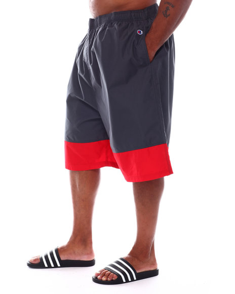 Champion - Color Block Swim Trunk Shorts With 2 Pockets (B&T)