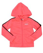 Girls - Tricot Zip Up Track Hoodie (4-6X)-2535376