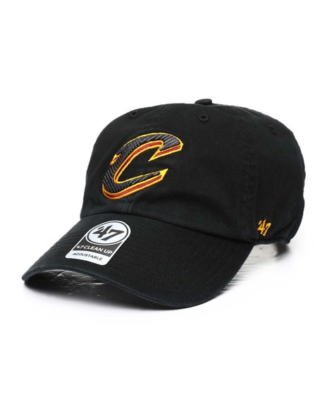 '47 - Cleveland Cavaliers Black NBA Jersey 47 Clean Up Cap