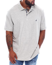 Big & Tall Faves - Short Sleeve Solid Anchor Deck Polo (B&T)-2536070