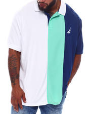 Big & Tall Faves - Colorblock Hydro Solid Poly Pique Polo (B&T)-2536094