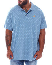Kangol - All Over Print Short Sleeve Polo (B&T)-2536099