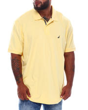 Big & Tall - Solid Anchor Classic Fit Deck Polo (B&T)-2536107