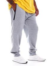 Joggers - Zip-Pocket Fleece Joggers (B&T)-2536155