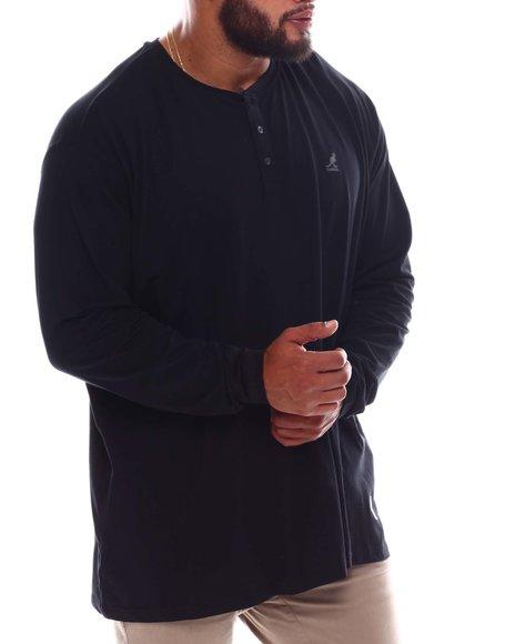 Kangol - Long Sleeve T-Shirt (B&T)
