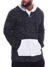 Hoodies - Color Block Hoodie Sweatshirt (B&T)-2536178