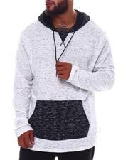 Hoodies - Color Block Hoodie Sweatshirt (B&T)-2536195