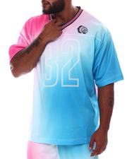Big & Tall - Influx Tie Dye Jersey Shirt (B&T)-2536137