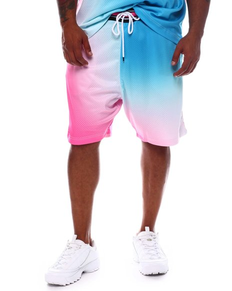 Hustle Gang - Fader Tie Dye Shorts (B&T)