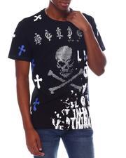 SMOKE RISE - Skull and Bones Tee-2536800