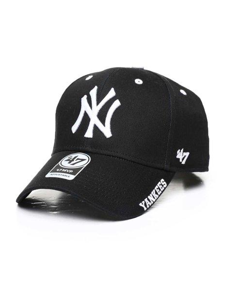'47 - New York Yankees Black Frost 47 MVP Cap