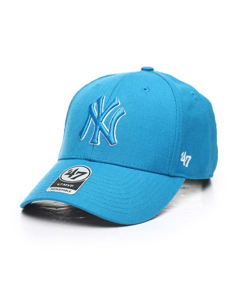 '47 - New York Yankees Glacier Blue 47 MVP Cap
