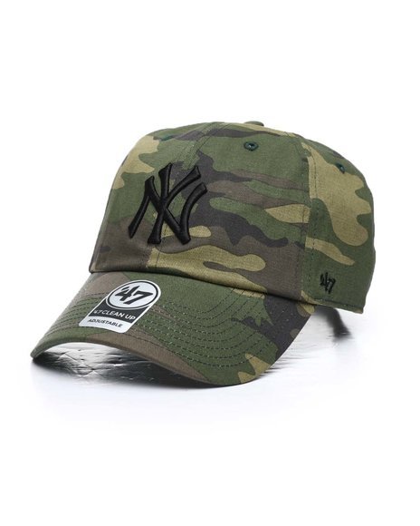 '47 - New York Yankees Camo Unwashed 47 Clean Up Cap