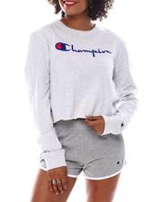Champion - Cropped L/S Boyfriend Tee-2537678