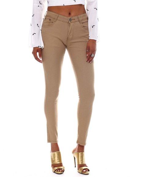 Fashion Lab - Basic 5 Pocket Twill Pants