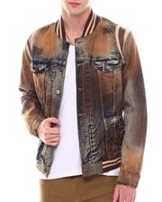 Denim Jackets - Varsity Denim Jacket-2536342