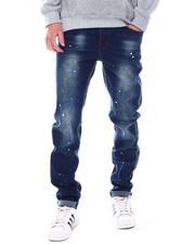 Jeans - Light Splatter Stretch Skinny Jean-2536524