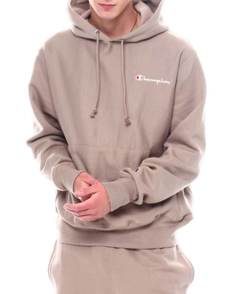 Champion - Small Embroidered Script REverse Weave Hoody