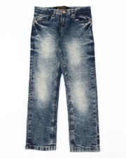 Arcade Styles - Washed 5 Pocket Stretch Jeans (8-18)-2535896