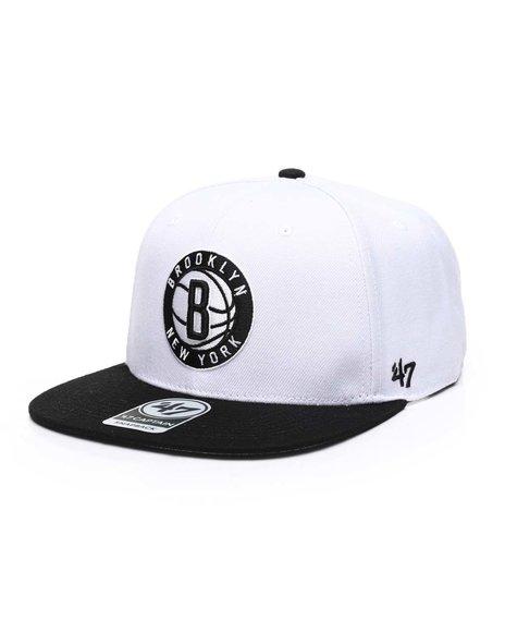 '47 - Brooklyn Nets No Shot Two Tone 47 Captain Cap