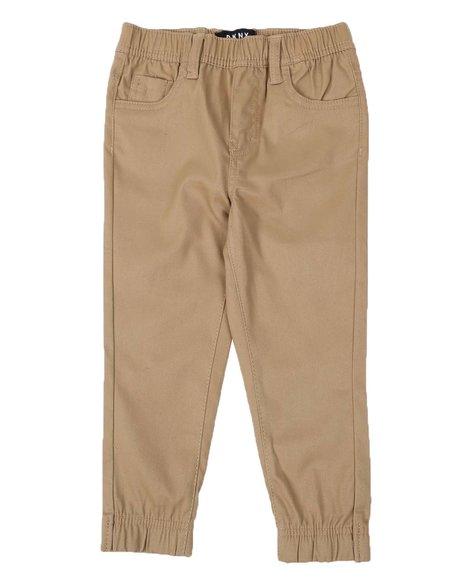 DKNY Jeans - 5 Pocket Straight Twill Jogger Pants (4-7)