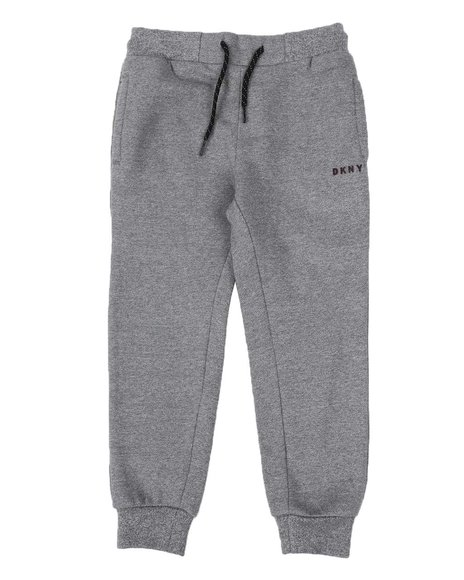 DKNY Jeans - Marled French Terry Moto Joggers (4-7)