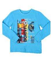 Born Fly - HD Graphic Print Long Sleeve T-Shirt (4-7)-2537442