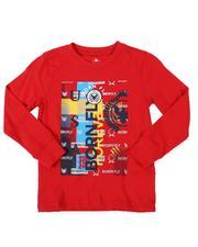 Born Fly - HD Graphic Print Long Sleeve T-Shirt (4-7)-2537447