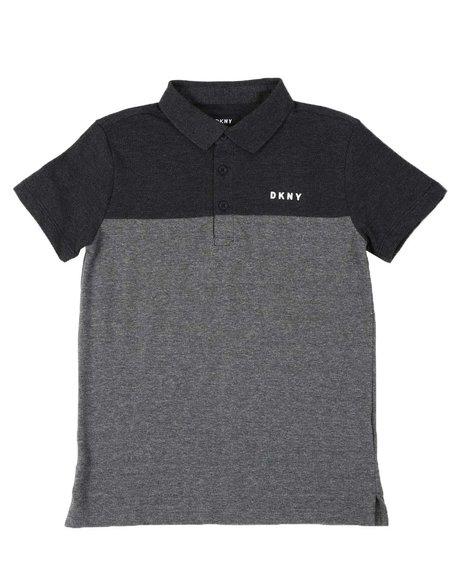 DKNY Jeans - DKNY Color Block Chest Logo Polo Shirt (8-20)
