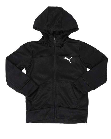 Puma - Slant Pack Tricot Zip Up Hoodie (4-7)