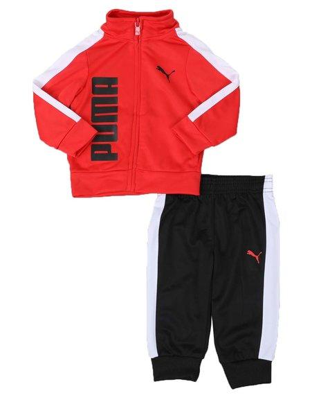 Puma - 2 Pc Tricot Track Jacket & Jogger Pants Set (Infant)