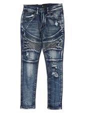 Jeans - Moto Distressed Jeans (8-20)-2538021
