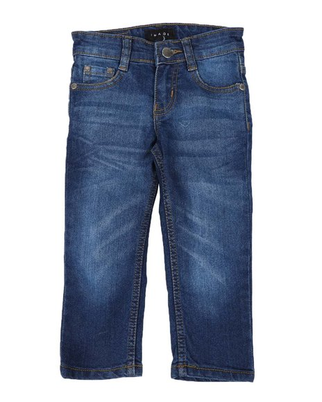 Arcade Styles - Sandblasted & Washed Stretch Jeans (2T-4T)
