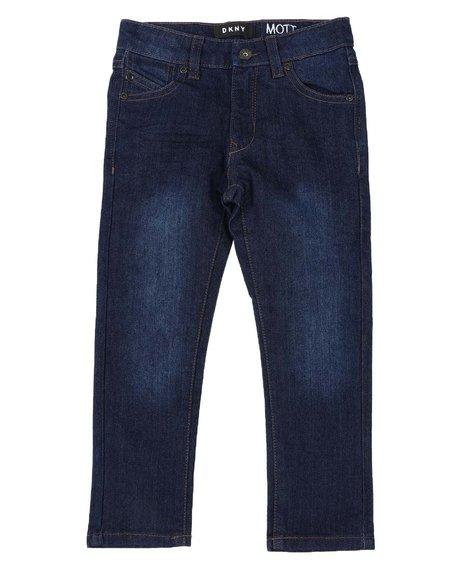 DKNY Jeans - Mott Straight Core 5 Pocket Jeans (4-7)