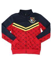 Activewear - Color Block Track Jacket (8-20)-2535833