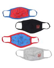 Face Coverings - 4Pk Ecko Youth Face Masks (Unisex)-2538611