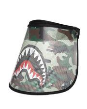 Fashion Lab - Camo Shark Face Shield (Unisex)-2538636
