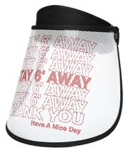 Accessories - Stay 6 Feet Away Face Shield (Unisex)-2538653