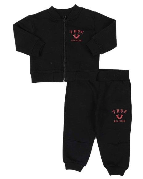 True Religion - 2 Pc Snake Stamp Jacket & Moto Jogger Pants Set (Infant)