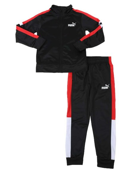 Puma - 2 Pc Track Jacket & Track Pants Set (8-20)