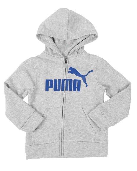 Puma - No. 1 Logo Pack Fleece Zip Up Hoodie (4-7)
